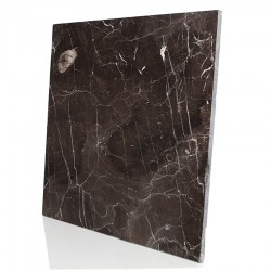 Polished Dark Emperador Marble Tiles for Floors and Walls