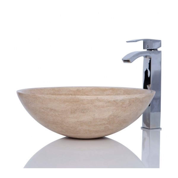 Beige Travertine Marble Sink