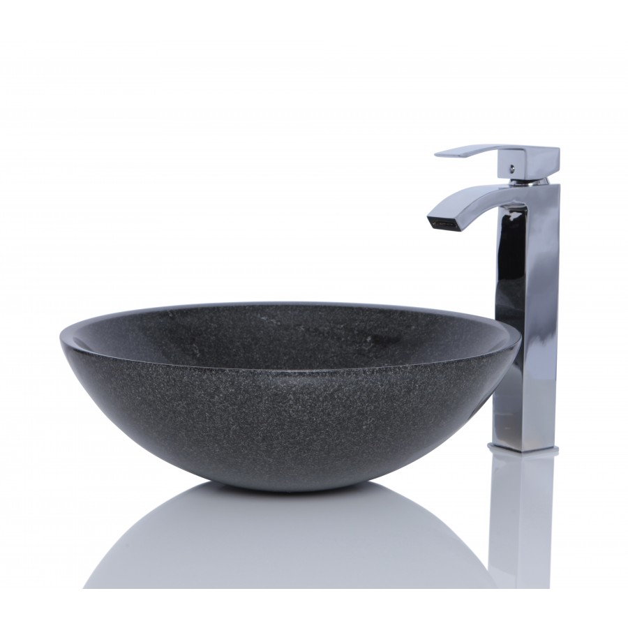 Sinks > Granite Sinks > Dark Grey Granite G654 Stone Round Wash ...