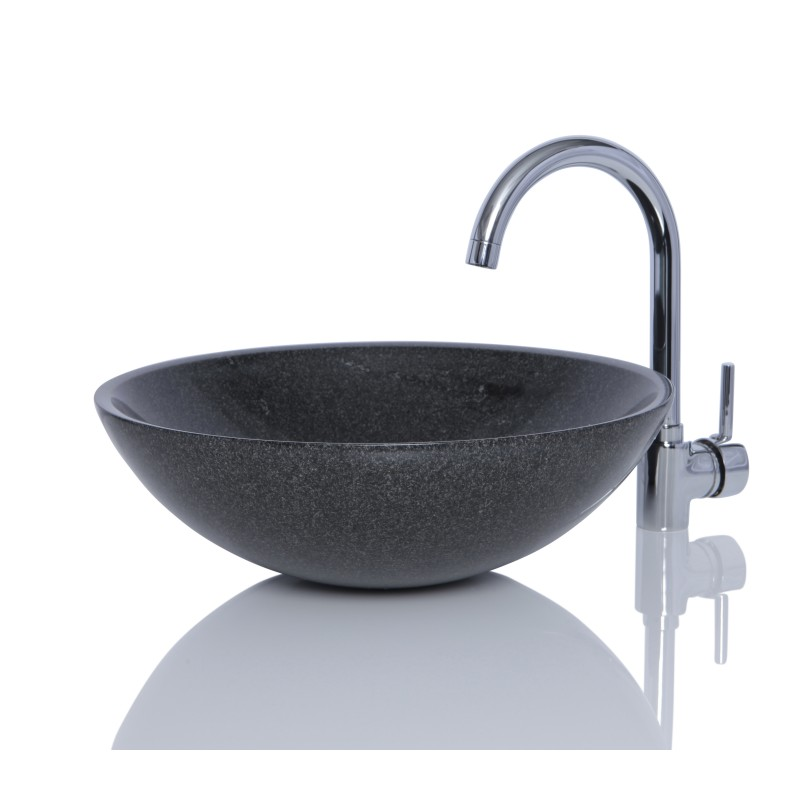 Round Granite Sink : Sinks > Granite Sinks > Dark Grey Granite G654 Stone Round Wash ...