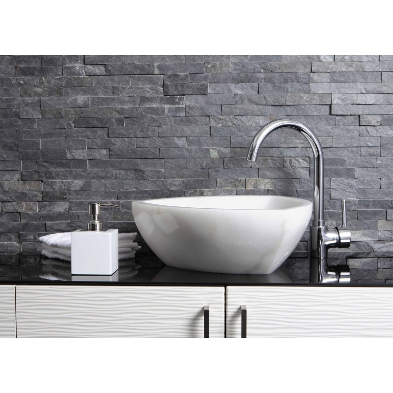 Marble Sink Basin : Sinks > Marble Sinks > White Marble Stone Triangle Wash Basin / Sink ...