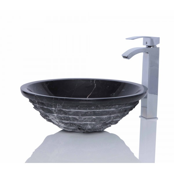 Stone Sink Basin : White Marble Stone Round Wash Basin / Sink + FREE WASTE - Rooms and ...