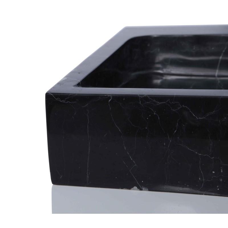 Black Marble Sink : Sinks > Marble Sinks > Black Marble Nero Marquina Stone Square Wash ...