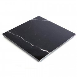 Polished Nero Marquina Black Marble Tiles for Floors & Walls