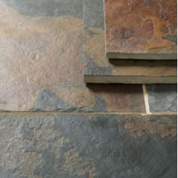 Multi Color Slate Tiles for Floors & Walls