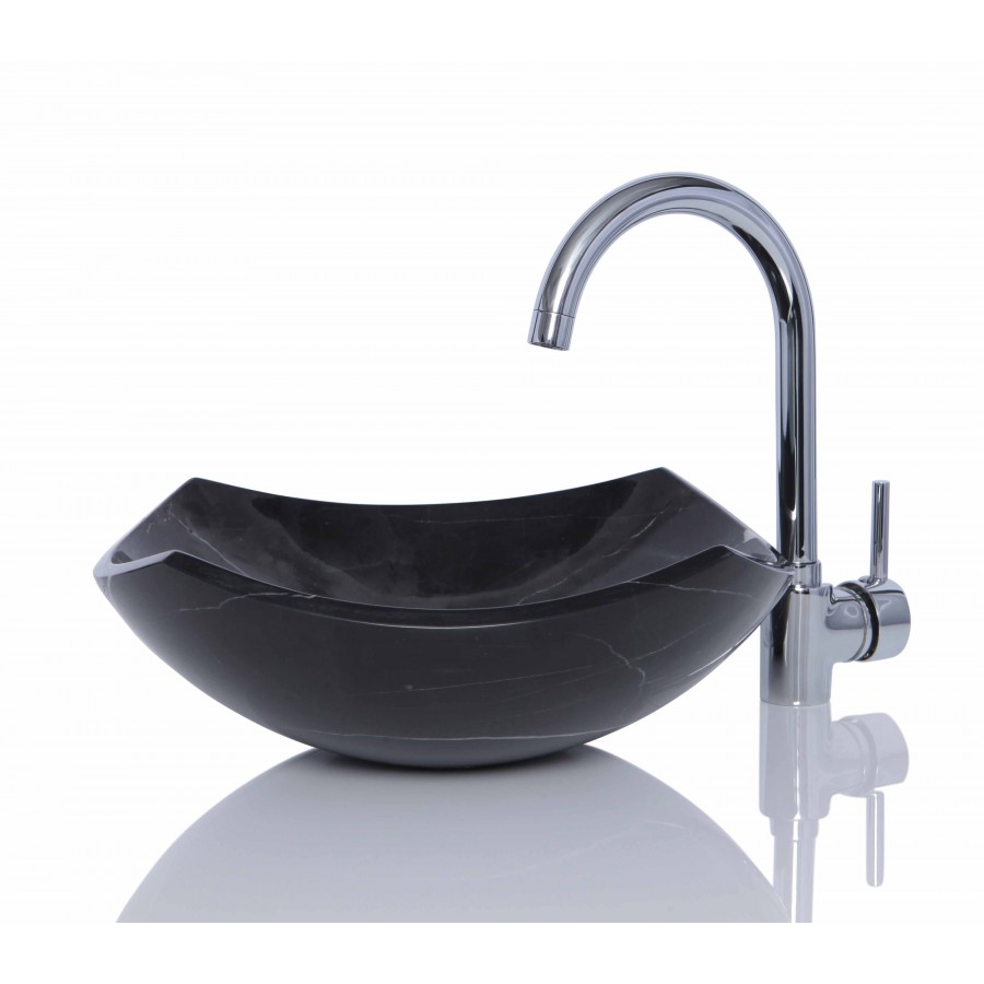 Black Marble Sink : Details about Black Marble Nero Marquina Stone Wash Basin / Sink - 39 ...
