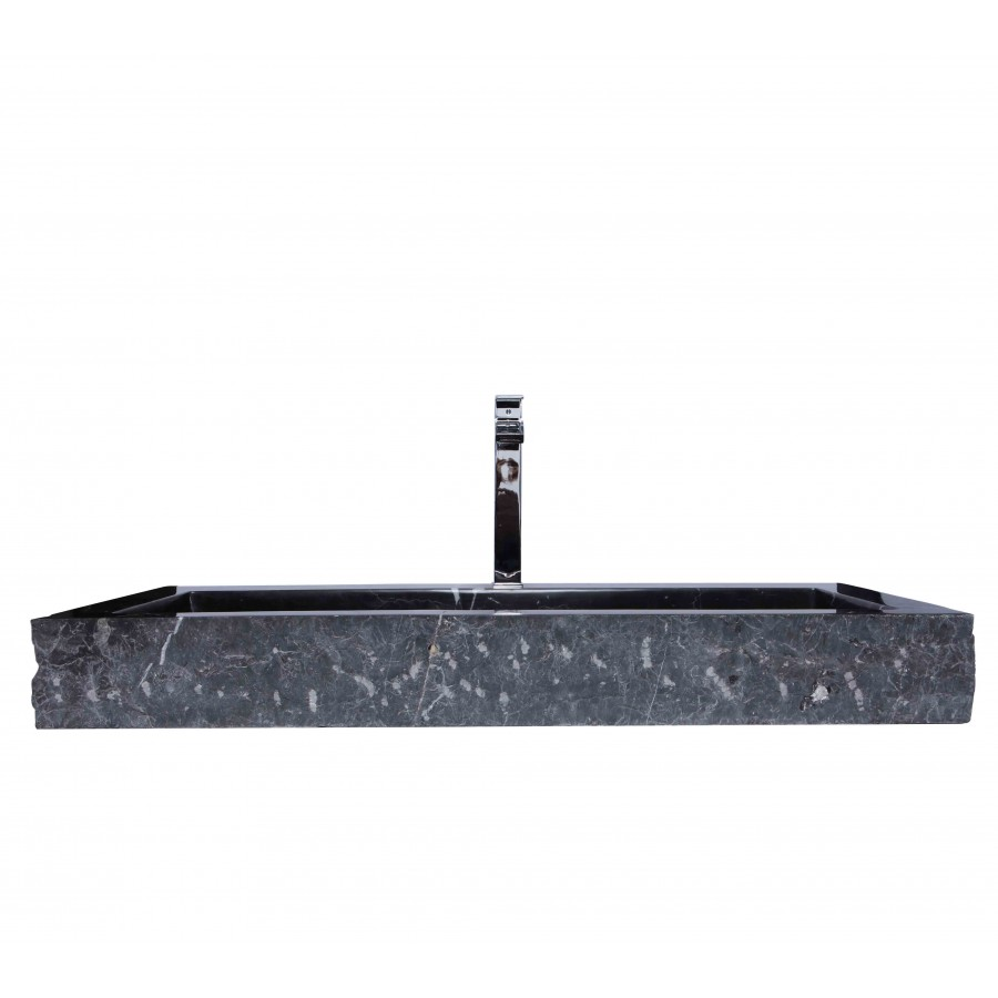 Black Marble Sink : Sinks > Marble Sinks > LARGE Black Marble Nero Marquina Stone Wash ...