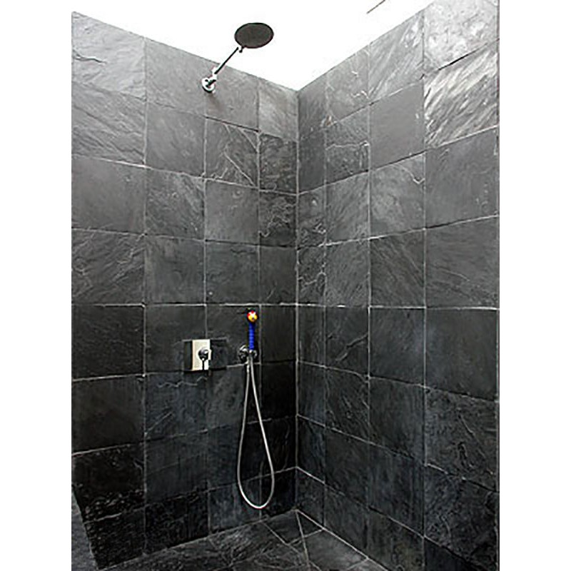 Black Slate Tiles For Floors Amp Walls Rooms And Floors
