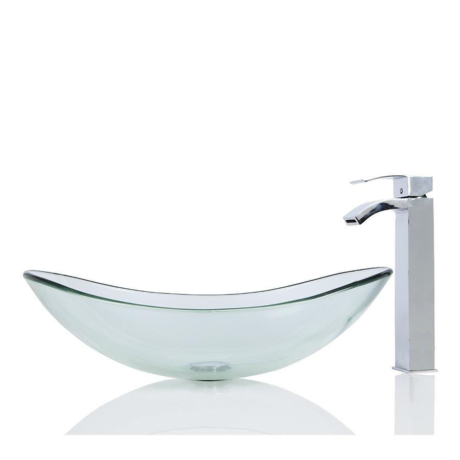 Glass Basin Sink : Sinks > Glass Sinks > Large Glass Oval Wash basin / Sink + Free ...